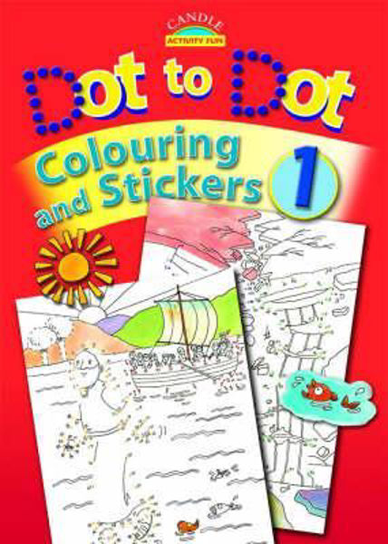 Picture of DOT TO DOT COLOURING & STICKERS Bk 2