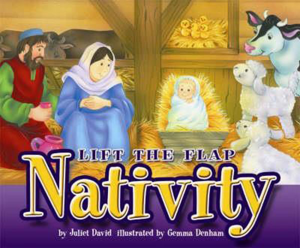 Picture of LIFT THE FLAP NATIVITY