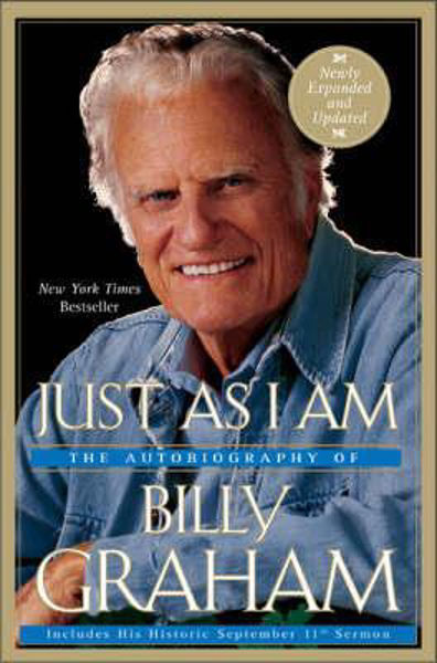 Picture of JUST AS I AM revised updated pbk