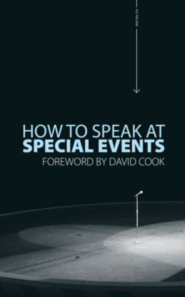 Picture of HOW TO SPEAK AT SPECIAL EVENTS