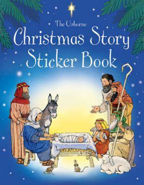 Picture of USBORNE CHRISTMAS STORY STICKER BOOK
