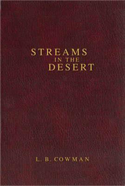 Picture of STREAMS IN THE DESERT hbk