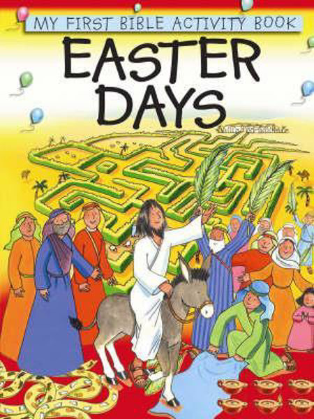 Picture of MY FIRST BIBLE ACTIVITY BK/EASTER DAYS