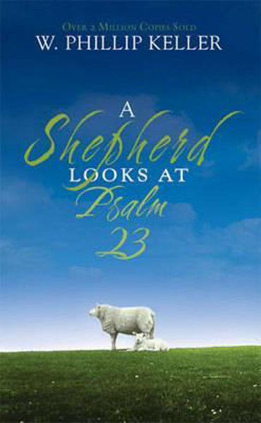 Picture of SHEPHERD LOOKS AT PSALM 23