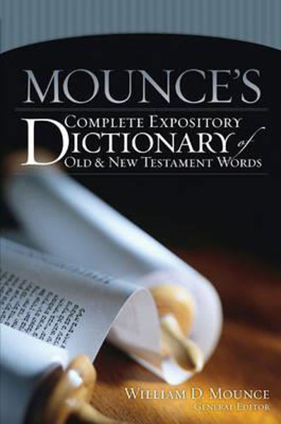 Picture of MOUNCES EXPOSITORY DICTIONARY OT & NT