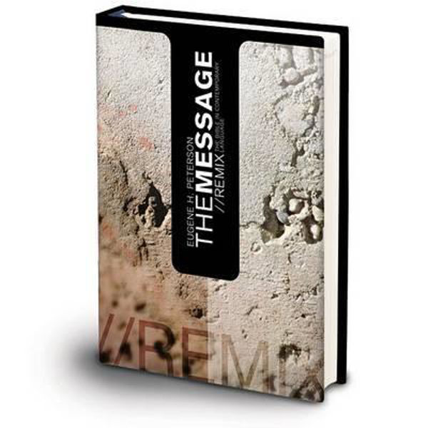 Picture of THE MESSAGE/Remix Hardcover Concrete