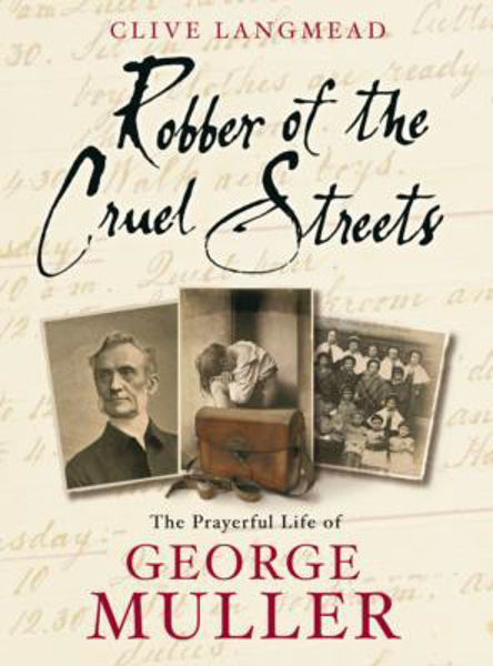 Picture of ROBBER OF THE CRUEL STREETS - MULLER