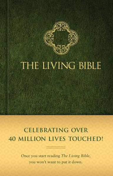 Picture of LIVING BIBLE Hardcover green