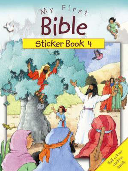 Picture of MY FIRST BIBLE STICKER BOOK 4