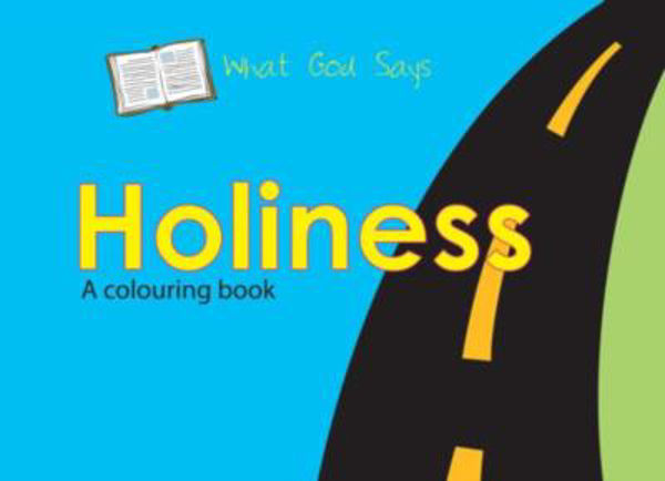 Picture of WHAT GOD SAYS/HOLINESS  colouring