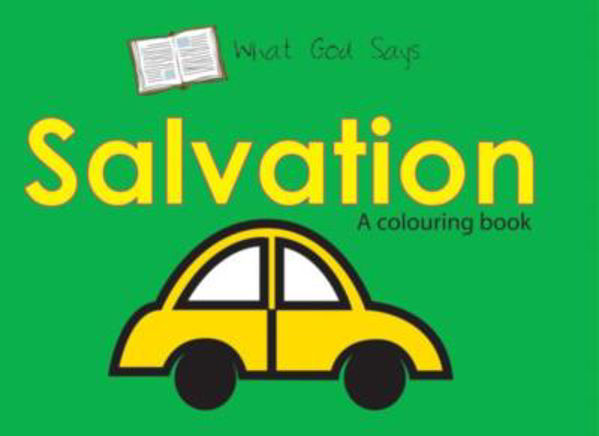 Picture of WHAT GOD SAYS/SALVATION  colouring