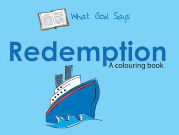 Picture of WHAT GOD SAYS/REDEMPTION colouring