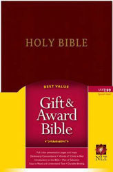 Picture of NLT GIFT AND AWARD Burg imit leather