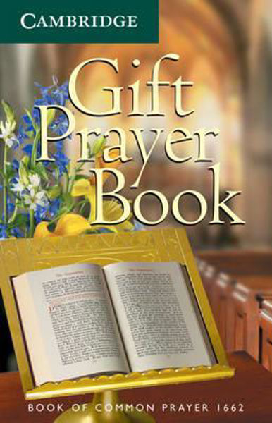 Picture of THE BOOK OF COMMON PRAYER White Gift Prayer Book