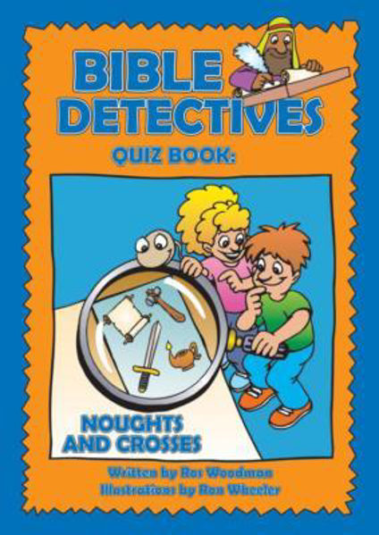 Picture of BIBLE DETECTIVES QUIZ BOOK