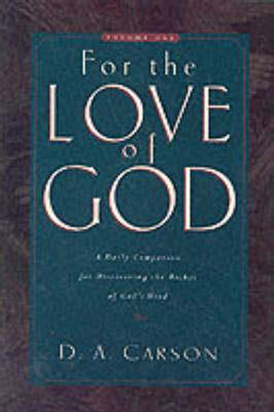 Picture of FOR THE LOVE OF GOD VOL 1 HB