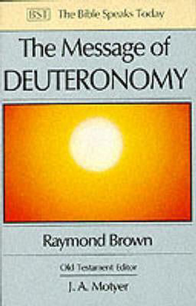Picture of BST/MESSAGE OF DEUTERONOMY
