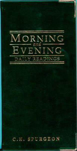 Picture of MORNING AND EVENING POCKET DIARY GREEN