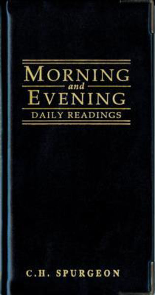 Picture of MORNING AND EVENING POCKET DIARY BLACK