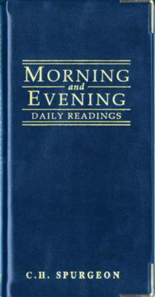 Picture of MORNING AND EVENING DAILY READING BLUE