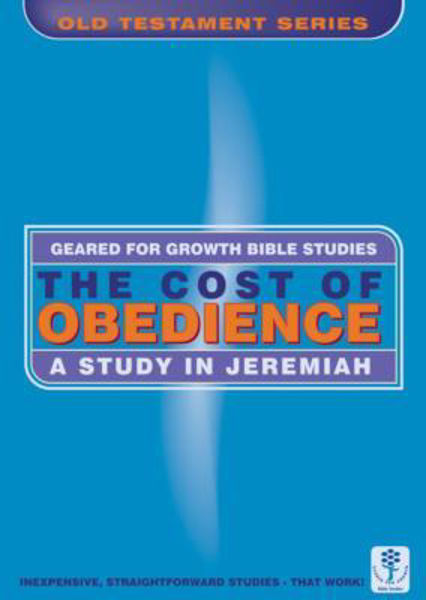 Picture of GEARED 4 GROWTH/JEREMIAH COST OBEDIENCE