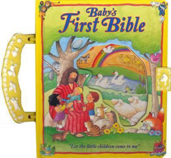 Picture of BABY'S FIRST BIBLE HB