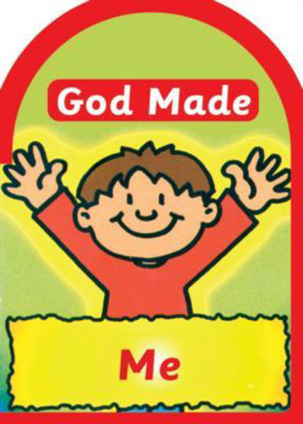Picture of BOARD BOOK/GOD MADE ME
