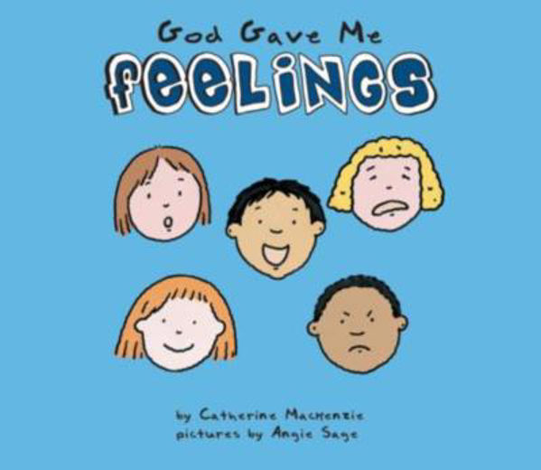 Picture of BOARD BOOK/GOD GAVE ME FEELINGS