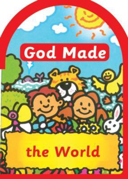 Picture of BOARD BOOK/GOD MADE THE WORLD