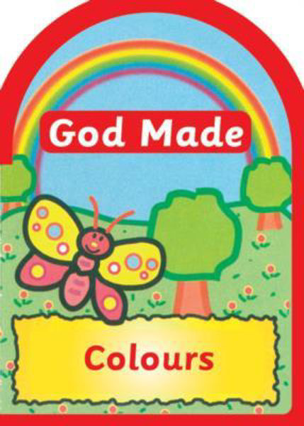 Picture of BOARD BOOK/GOD MADE COLOURS