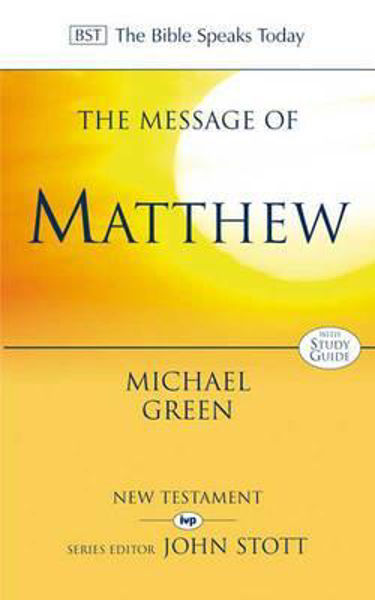 Picture of BST/MESSAGE OF MATTHEW