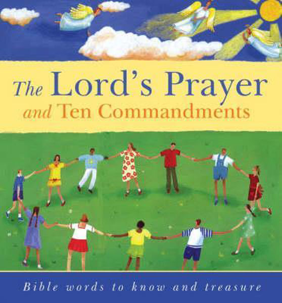 Picture of LORD'S PRAYER & TEN COMMANDMENTS