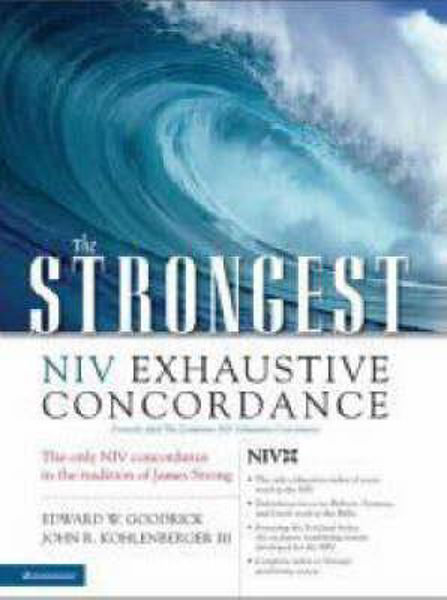 Picture of STRONGS NIV EXHAUSTIVE CONCORDANCE