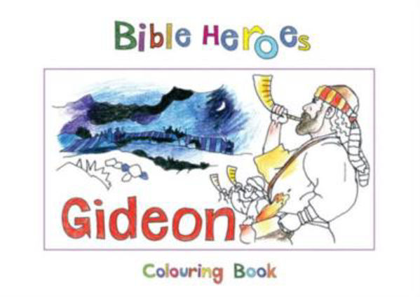 Picture of BIBLE HEROES/GIDEON Colouring