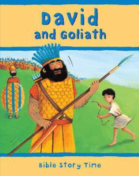 Picture of BIBLE STORY TIME/DAVID & GOLIATH