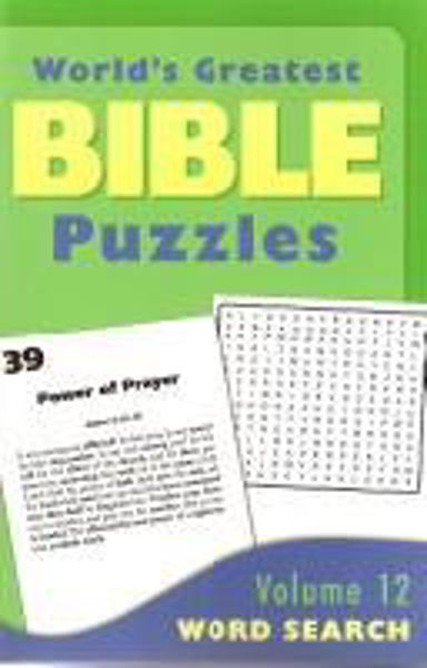 Picture of GREATEST BIBLE PUZZLES/#12 Word Search