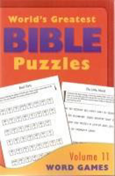 Picture of GREATEST BIBLE PUZZLES/#11 Word Games
