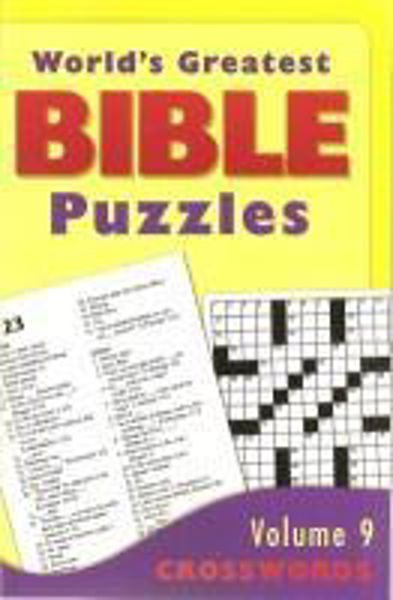 Picture of GREATEST BIBLE PUZZLES/#09 Crosswords