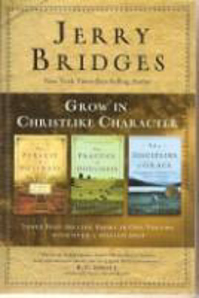 Picture of GROW IN CHRISTLIKE CHARACTER Jerry Bridges 3 in1 book