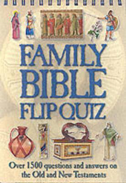 Picture of FAMILY BIBLE FLIP QUIZ