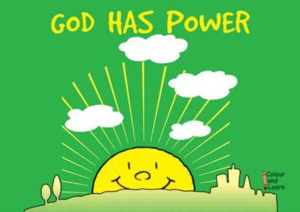 Picture of COLOUR & LEARN/GOD HAS POWER
