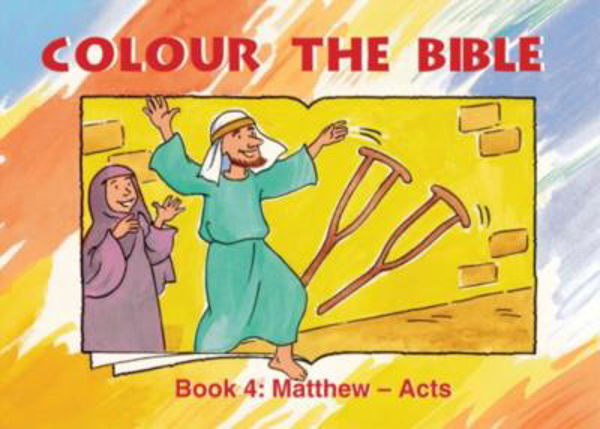 Picture of COLOUR THE BIBLE BK 4 MATTHEW - ACTS