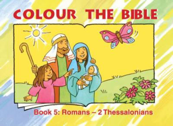Picture of COLOUR THE BIBLE BK 5 ROMANS - 2 THESS