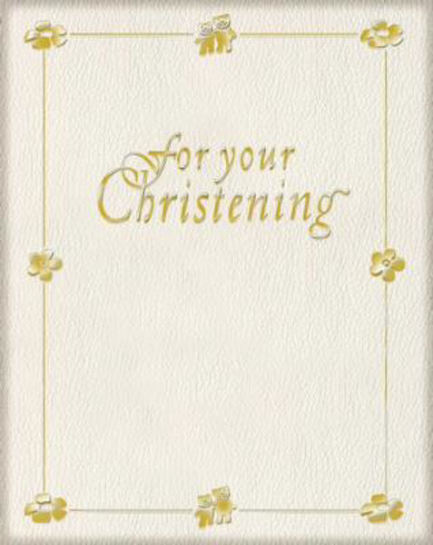 Picture of FOR YOUR CHRISTENING HB