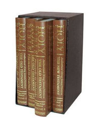 Picture of KJV DOUBLE PICA 4 VOLUME BOXED SET BIBLE
