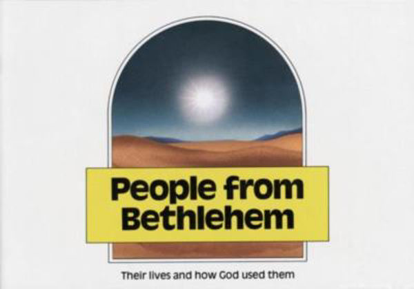 Picture of PEOPLE FROM BETHLEHEM