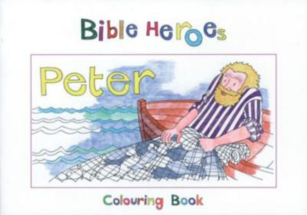 Picture of BIBLE HEROES/PETER Colouring