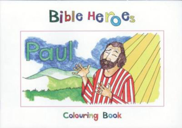 Picture of BIBLE HEROES/PAUL Colouring