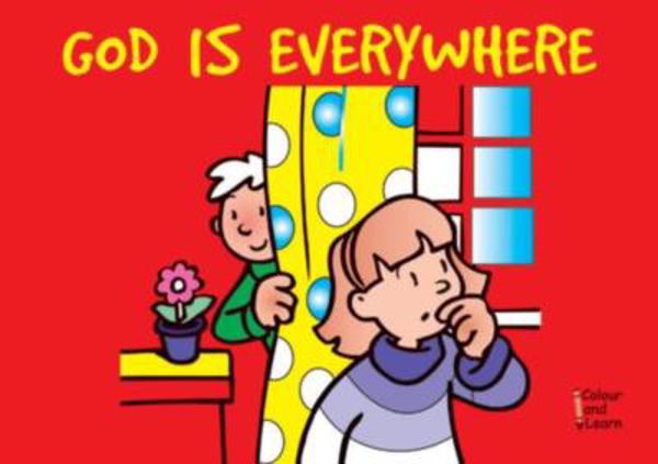 Picture of COLOUR & LEARN/GOD IS EVERYWHERE