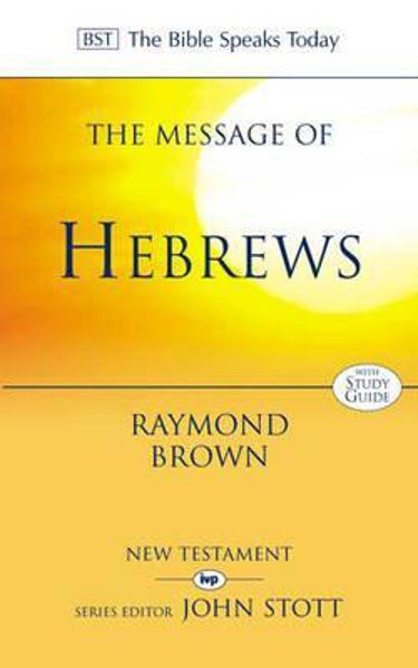 Picture of BST/MESSAGE OF HEBREWS
